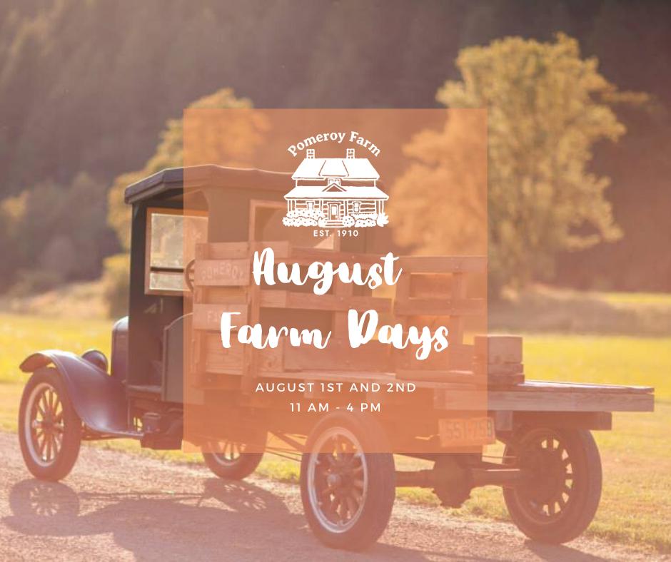 August Farm Days Facebook